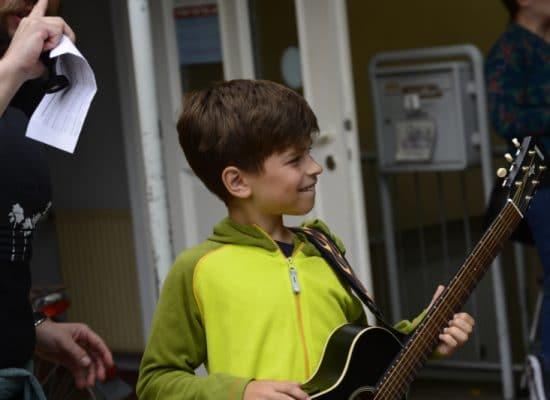 Sommerfest Musikschule Taktstelle Erlangen